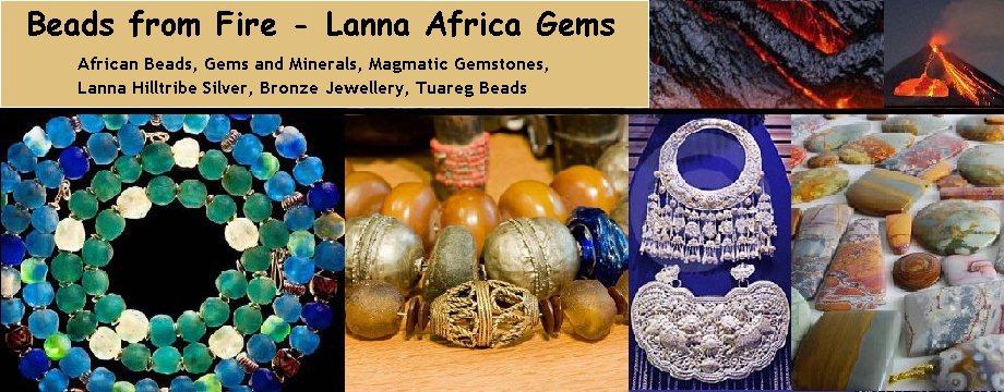Beads from Fire - Lanna Africa Gems